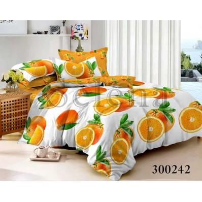Постельное белье Selena сатин 300242 Orange