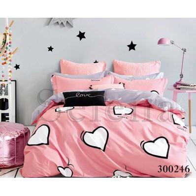Комплект Постельного белья Selena сатин 300246 Love Story