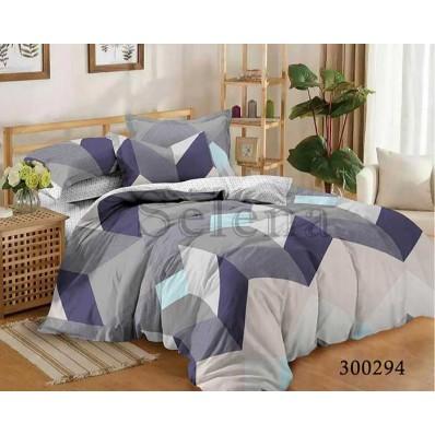 Комплект Постельное белье Selena сатин 300294 Геометрический Узор