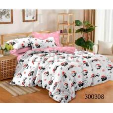 Постельное белье Selena сатин 300308 Веселые коты