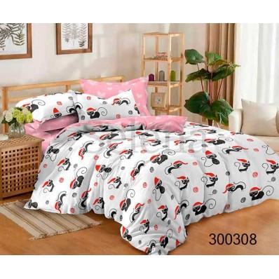 Комплект Постельное белье Selena сатин 300308 Веселые коты