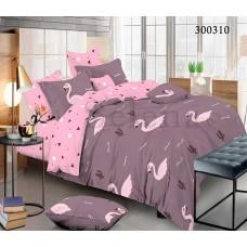 Постельное белье Selena сатин 300310 Крупный фламинго