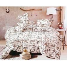 Постельное белье Selena сатин 300330 Бульдожки
