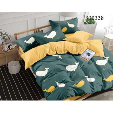 Постельное белье Selena сатин 300338 Рыба Кит