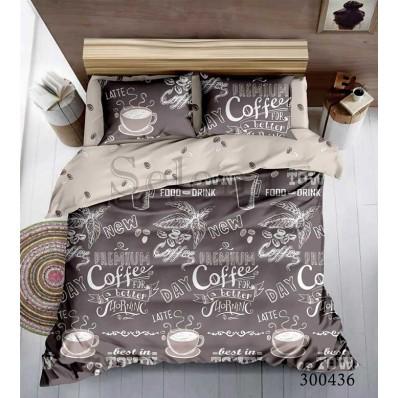 Постельное белье Selena сатин 300436 Кофейное утро