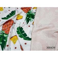Постельное белье Selena сатин 300439 Перышки нежные