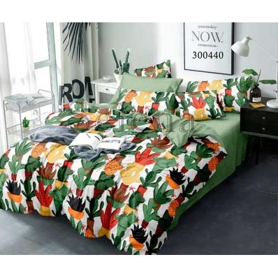 Постельное белье Selena сатин 300440 Цветные кактусы