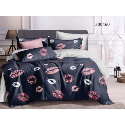 Постельное белье Selena сатин 300460 Поцелуйчики