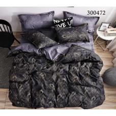 Постельное белье Selena сатин 300472 Перо Черное