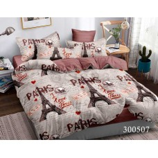 Постельное белье Selena сатин 300507 Люблю Париж
