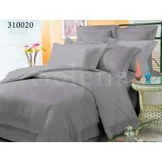 Постельное белье Selena сатин 310020 Grey