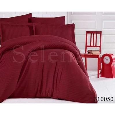 Постельное белье Selena сатин 310050 Бордо