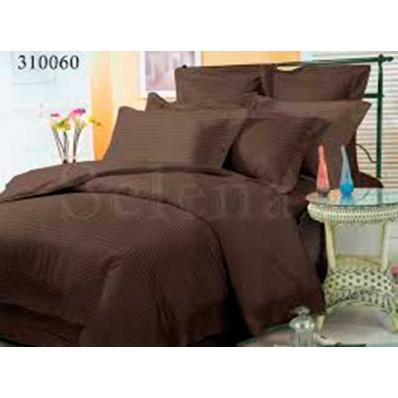 Постельное белье Selena сатин 310060 Шоколад