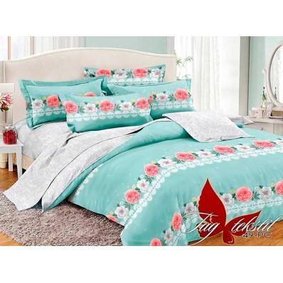 Комплект постельного белья с компаньоном TM Tag-tekstil поплин PC049