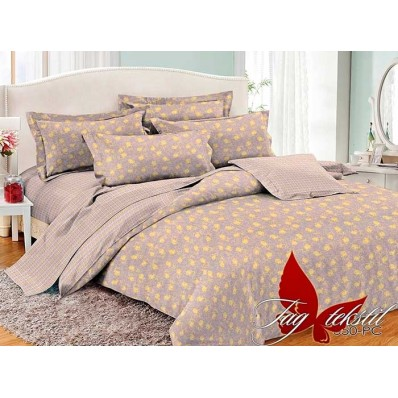 Комплект постельного белья с компаньоном TM Tag-tekstil поплин PC050