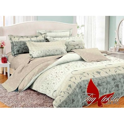 Комплект постельного белья с компаньоном TM Tag-tekstil поплин PC054