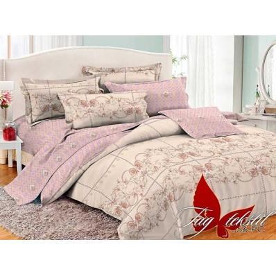Комплект постельного белья с компаньоном TM Tag-tekstil поплин PC056
