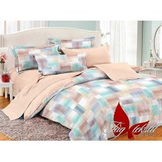 Комплект постельного белья с компаньоном TM Tag-tekstil поплин PC057