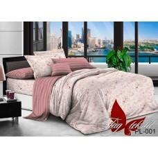 Комплект постельного белья с компаньоном TM Tag-tekstil поплин PL001