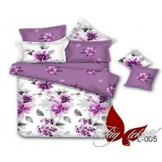 Комплект постельного белья с компаньоном TM Tag-tekstil поплин PL005