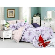 Комплект постельного белья с компаньоном TM Tag-tekstil поплин PL2053
