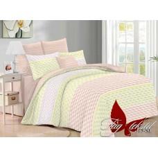 Комплект постельного белья с компаньоном TM Tag-tekstil поплин SL315