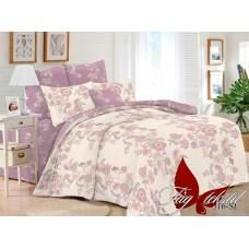 Комплект постельного белья с компаньоном TM Tag-tekstil поплин SL316