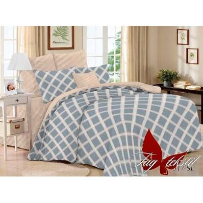 Комплект постельного белья с компаньоном TM Tag-tekstil поплин SL317