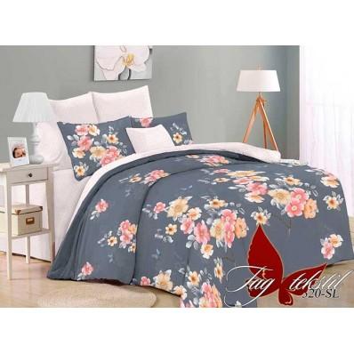 Комплект постельного белья с компаньоном TM Tag-tekstil поплин SL320
