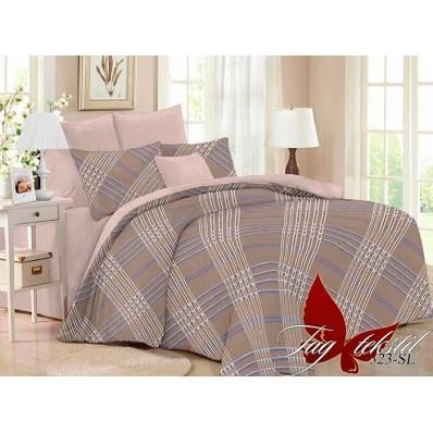 Комплект постельного белья с компаньоном TM Tag-tekstil поплин SL323