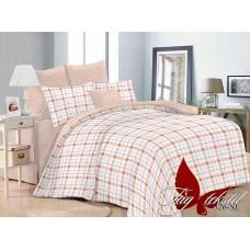 Комплект постельного белья с компаньоном TM Tag-tekstil поплин SL326