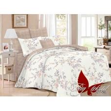 Комплект постельного белья с компаньоном TM Tag-tekstil поплин SL327