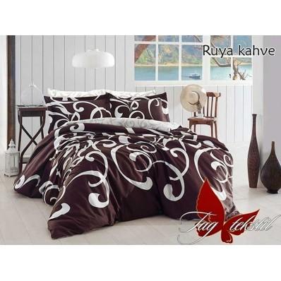 Комплект постельного белья с компаньоном Ruya kahve R670