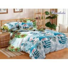 Комплект постельного белья TM Tag-tekstil Снеговики R690