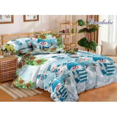 Комплект постельного белья Снеговики R690