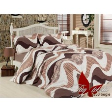 Комплект постельного белья TM Tag-tekstil R6958 begie