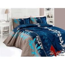 Комплект постельного белья TM Tag-tekstil R7085 blue