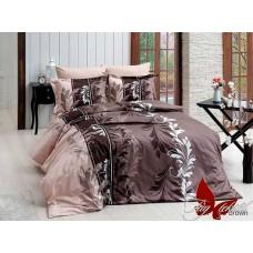 Комплект постельного белья TM Tag-tekstil R7085 brown