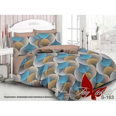 Комплект постельного белья с компаньоном TM Tag-tekstil сатин люкс S163