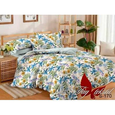 Комплект постельного белья с компаньоном TM Tag-tekstil сатин люкс S170