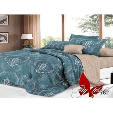 Комплект постельного белья с компаньоном TM Tag-tekstil сатин люкс S182