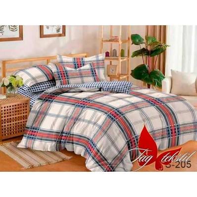 Комплект постельного белья с компаньоном TM Tag-tekstil сатин люкс S205