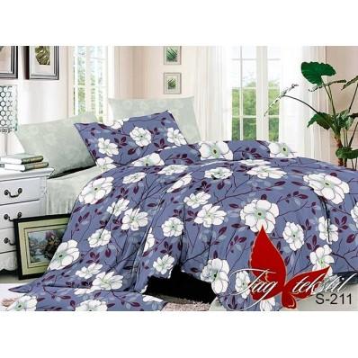 Комплект постельного белья с компаньоном TM Tag-tekstil сатин люкс S211