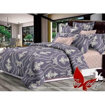 Комплект постельного белья с компаньоном TM Tag-tekstil сатин люкс S213