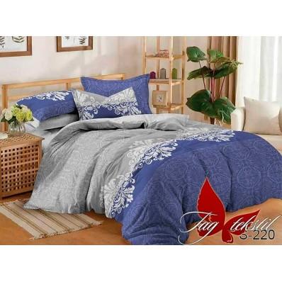 Комплект постельного белья с компаньоном TM Tag-tekstil сатин люкс S220