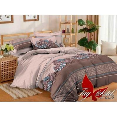 Комплект постельного белья с компаньоном TM Tag-tekstil сатин люкс S223