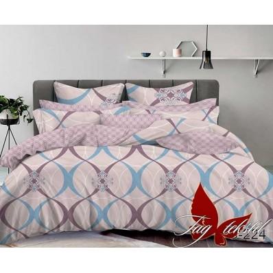 Комплект постельного белья с компаньоном TM Tag-tekstil сатин люкс S224