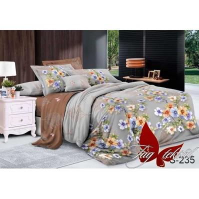 Комплект постельного белья с компаньоном TM Tag-tekstil сатин люкс S235