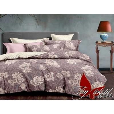 Комплект постельного белья с компаньоном TM Tag-tekstil сатин люкс S244