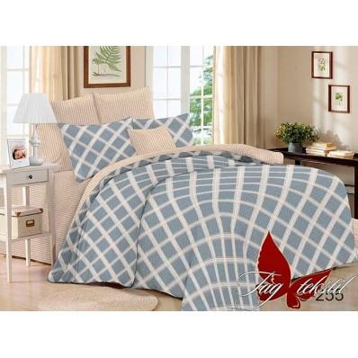 Комплект постельного белья с компаньоном TM Tag-tekstil сатин люкс S255